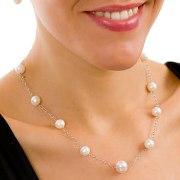 aa12f1c56dce JOYERIA CON PERLAS. Conjuntos de perlas collares y pendientes. Perla  colgante